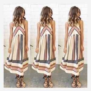 ISO striped free people dress